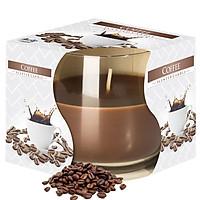 Ly nến thơm tinh dầu Bispol Coffee 100g QT024455 - cà phê đen