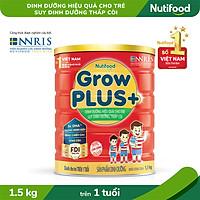 Sữa Bột GrowPLUS+ Suy Dinh Dưỡng trên 1 tuổi 1.5kg