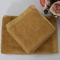 Combo 5 Khăn Làm Nail Cotton Nam Phong 40*60cm - màu Nâu Nhạt