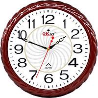 Đồng hồ treo tường thiết kế đẹp OKAY 194