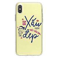 Ốp Lưng Điện Thoại Internet Fun Cho iPhone X I-001-012-C-IPX