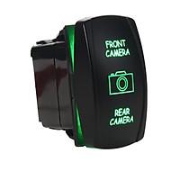 Rocker switch 6B11B2 12V FRONT CAMERA REAR CAMERA Laser LED blue on-off-on 12V (Green)