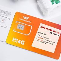 Sim Now Data 12 tháng - 5GB/ngày Miễn phí 12 tháng đầu tiên - Chính hãng Vietnamobile