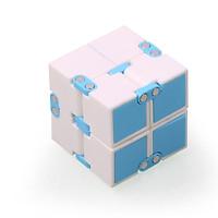 Quà tặng Khối quay lập phương Infinity Cube Vô Cực Thần Kỳ (màu ngẫu nhiên)