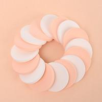 Bộ 16 bông mút đánh phấn hình tròn siêu mềm mịn phong cách Hàn Quốc - MN001