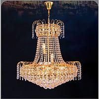 Đèn chùm pha lê cao cấp thiết kế sang trọng trang trí phòng khách, nhà hàng, quán cafe, khách sạn CFL 1221