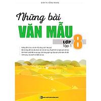 Những Bài Văn Mẫu Lớp 8 (Tập 1) tặng kèm bookmark