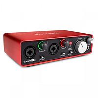 Focusrite Scarlett 2i2 Gen 2 - Sound card thu âm 2 in, 2 out - Hàng Nhập Khẩu