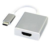 Cáp Adapter Chuyển Type-C ra HDMI - Màu ngẫu nhiên - Hàng nhập khẩu