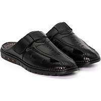 Giày sabo, giày sục da bò thật đục lổ thoáng mát VO Shoes HT811