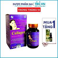 Collagen Royal Jelly - Ngăn ngừa quá trình lão hóa, Tăng cường độ đàn hồi cho da, Bảo vệ tế bào da, giúp da chắc khỏe, mịn màng (Hộp 30 viên)