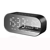 Loa bluetooth kiêm đồng hồ báo thức Win8 ( Giao Màu Ngẫu Nhiên)