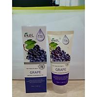 Gel Tẩy Tế bào Chết Quả Nho - Ekel Natural Clean Peeling Gel Grape100ml (Tặng 2 nạ Jant Blanc)