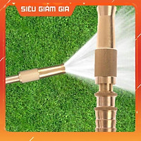 Đầu vòi xịt nước tăng áp đa năng Vòi phun tăng áp bằng đồng tưới cây - rửa xe cực mạnh - 3 chế độ 206587