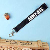 Móc khóa dây strap ARMY-BTS