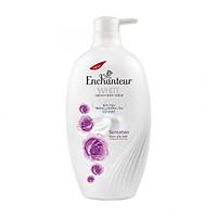 Sữa tắm trắng và dưỡng ẩm có hạt Enchanteur Sensation gợi cảm tinh tế White Creamy Body Scrub 650gr