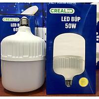Bóng đèn led búp nhựa thương hiệu CREALED 50w ,góc sáng rộng ,tiết kiệm điện