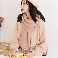 Khăn len mịn quàng cổ thời trang