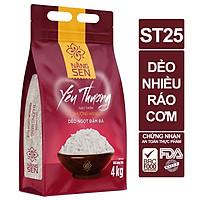 Gạo Nàng sen Yêu Thương ST25 4kg - 3514106