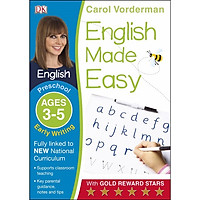 Sách: English Made Easy Early Writing Ages 3-5 Preschool