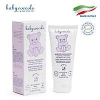 Gel massage cho bé chiết xuất hạnh nhân Babycoccole 75ml 0M+