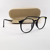 Gọng kính cận nam nữ mắt tròn nhựa màu hồng, ghi xám, đen SA8187. Tròng kính giả cận 0 độ chống ánh sáng xanh, chống nắng và tia UV
