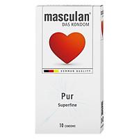 Bao Cao Su Masculan Das Kondom Pur (10 Cái / Hộp)