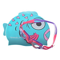 Bộ Kính Mũ Bơi Speedo 8093037584 Sea Squad Cap And Goggle Set Assorted (Nhiều Màu) 290519 (Size One Size)