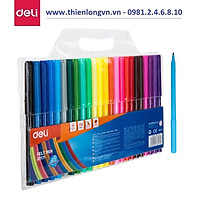 Bút dạ màu nước Deli 37171 - 24 màu
