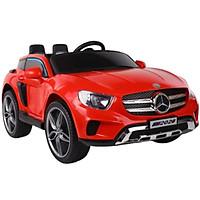 Ô tô xe điện đồ chơi MERCEDES KP2028 vận động cho bé 2 chỗ 4 động cơ (Đỏ-Trắng)