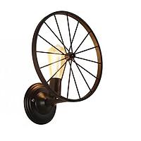 Đèn gắn tường trang trí kiểu công nghiệp hình bánh xe đạp VT12