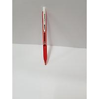 Bút Bi Laris TL-095 - Mực Đỏ - Thân Đỏ