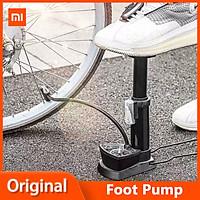 Máy bơm bàn đạp Xiaomi Deli mới Máy bơm xe đạp không khí di động Máy nén khí bàn đạp Máy bơm lốp