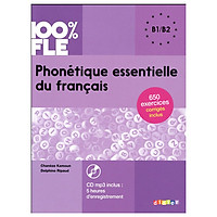 Phonétique essentielle du francais niveau B1 B2 - Livre + CD