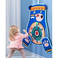 Đồ chơi bảng phi tiêu ném banh cho bé hình gấu -hàng cao cấp-giao màu ngẫu nhiên