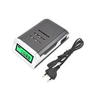 Sạc pin C905W cho pin tiểu AA lắp mic không dây,máy đo huyết áp và pin đũa AAA.tự ngắt khi đầy