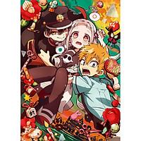 Tranh Poster  Jibaku Shounen Hanako-kun  khổ A4