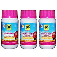 Bộ 3 lọ phân bón lá Bình Điền MK 901 - kích thích ra hoa và dưỡng hoa lâu tàn 100g (3 hũ x 100g)