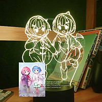 Đèn Ngủ RE:ZERO Ram x Rem