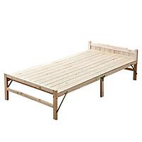 Giường ngủ gỗ gấp tặng thêm nệm, giường ngủ gỗ xếp gọn nhẹ
