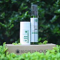 Combo bảo vệ da toàn diện - Dầu rửa mặt BeGreen House (100ml) & Kem chống nắng BeGreen House (50ml) (Sạch nhờn, ngừa mụn)