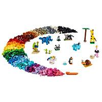 Mô hình đồ chơi lắp ráp LEGO CLASSIC Gạch Sáng Tạo Động Vật 11011 ( 1500 Chi tiết )