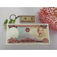 Tờ tiền 500 đồng bao cấp năm 1985 [CHẤT LƯỢNG ĐẸP] tặng kèm móc khóa hình tiền xưa - tiền xưa thật 100%