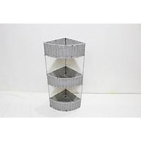 Kệ góc đan dây nhựa khung sắt - CH3720A/1BR