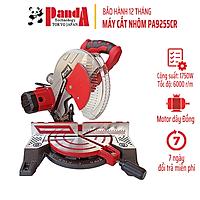 Máy cắt nhôm Panda PA9255CR, Motor dây curoa, Công suất 1750W, Lưỡi 255mm, Máy cắt góc đa năng