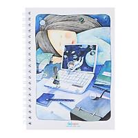 Sổ Tay Tiki Inspiration -  Blue Dream