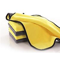 Combo 2 Khăn lau xe chuyên dụng Microfiber siêu thấm không bị sơ, rối sử dụng cho ô tô - xe hơi kích thước 30x60