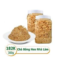 [Rau Củ Trái Cây - Giao nhanh HCM] Chà bông heo nhà làm 100% nguyên chất (1 Hộp - 300g)