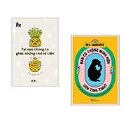 Combo 2 cuốn sách: Bạn có thông minh hơn con tinh tinh  + Tại sao chúng ta ghét những thứ rẻ tiền