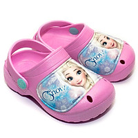 Giày Sandal Quai Nhựa Bé Gái Disney Nữ Hoàng Băng Giá Elsa FZ 103SD-PINK Hồng